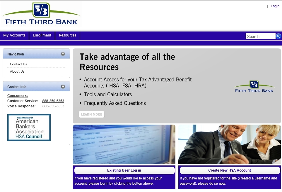 Fifth Third Bank Online Portal